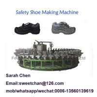 China PU shoe sole pouring machine with automatic rotary production line on sale