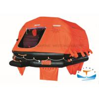 Quality Emergency Self Inflating Raft Safe Fast Boarding 6-37 Person Customized Service for sale