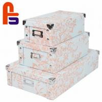 China Customized Logo Printing Screen Printing With Handle Cardboard Gift Boxes for sale