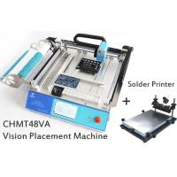 SMT Placement Equipment Small Desktop Pick And Place Machine With Solder Printer