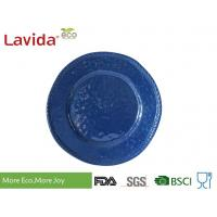 Quality High End Classic Design Melamine Dinner Plates Biodegradable For Outdoor / Indoor for sale