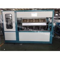 Quality PLC Program Control Paper Egg Crate Making Machine 400 - 12000 Production Capacity for sale