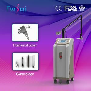 China 40W Skin rejuvenation acne removal seven scan modes 1~100ms pulse width Carbon dioxide  fractional  laser on sale