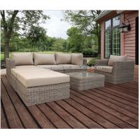 UV Resistant Contemporary Patio Sectional Sofa Outdoor Patio Sectional Furn