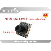 Quality Network 1.3 M CCTV Camera Module support 2D / 3D Noise reduction Economic 3.6mm M12 lens ALL-IN-ONE for sale