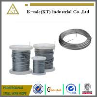 Quality Stainless Steel Wire rope  for sale in walmart plastic wheel for sale
