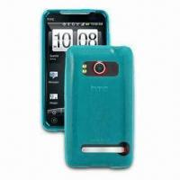 China High-quality TPU Case for HTC EVO 4G, Different Colors are Available on sale