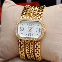 China 2015 Classic Women Lady Bracelet Crystal Ladies Bangle Dress Watch Fashion Quartz Rhinestone Relogio Diamond Wristwatch on sale