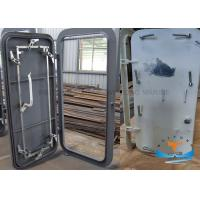 Quality Steel Q235 Marine Watertight Doors OEM ODM Service Natural Finish Available for sale