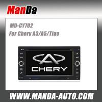 Quality Manda 2 din car stereo for Chery A3/A5/Tigo in-dash head unit touch screen dvd factory navigation system for sale