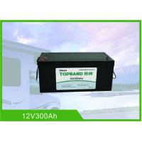 Quality 12 Volt 300Ah RV Battery Deep Cycle High Inrush Current Bluetooth / WIFI Connection for sale
