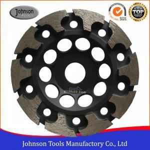 125mm T Segment Diamond Cup Grinding Wheel For Concrete Metal Bond Material