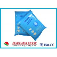 Quality Disposable Wet Wash Glove No Irritation Microwavable With Non - Woven Material for sale