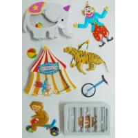 circus printed customized 3D Shaker Sticker for car with Accessory for sale