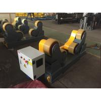 Quality Self Aligned Pipe Turning Rolls Pipe Welding Rollers 350 X 120mm Rubber Wheels for sale
