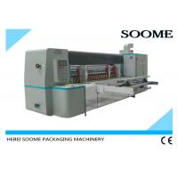 Quality Automatic Rotary Die Cutting And Creasing Machine For Corrugated Cardboard With Pre - Creaser for sale