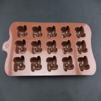 Quality Easy for wash & useful custom shape silicone chocolate candy molds, custom logos, sizes, colors, shape for sale