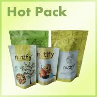 Quality Mixed Nuts / Dried Fruit Stand Up Pouch Bags Food Grade Aluminum Foil Lined for sale