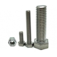 Quality Motorcycle Din933 Stainless Steel M6 M16 M20 Hex Head Bolt for sale