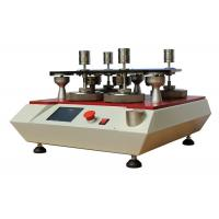 4 Stations Textile Fabric Testing Equipment Martindale Abrasion tester