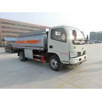 Quality 6000liter oil truck fuel tanker truck fuel delivery truck price for sale