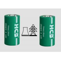 Quality Big capacity low self discharge Primary 12000mAh Spiral 3V MnO2 Lithium cylindrical Battery for sale