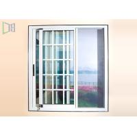 Buy Dust Proof Aluminium Sliding Windows Grill Design With Stainless Steel Insect Screen at wholesale prices