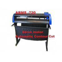 China DC Servo Plotter Sticker Cutting Machine , Vinyl Cutter Plotter Printer With Contour Cut on sale