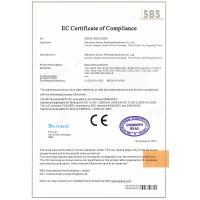 WENZHOU WEXIN MACHINERY CO.,LTD Certifications