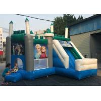 Quality Safety Air Flap Commercial Bouncy Castle , Inflatable Jump House Easily Putting Up for sale