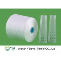 Quality Knotless Bright Virgin Sewing 100 Spun Polyester Yarn 42/2 Counts Low Elongation for sale