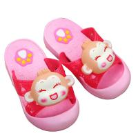 China Toddler Closed Toe House Slippers Dripping Print Pattern Type Synthetic Sole on sale