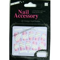 China Nontoxic & Eco - friendly ink and glue Removable rhinestone nail stickers for face paint on sale
