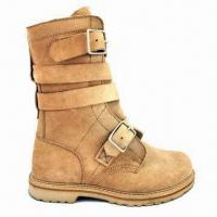 Quality Combat Boots, Polyurethane Outsole for Superior Comfort for sale