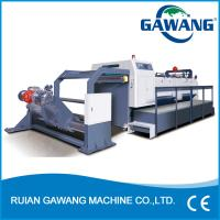 China High Precision Tobacco Package Paper Cutter Machine SGS Certification on sale