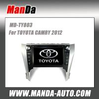 Quality 8 inch 2 din hd touch screen car multimedia for TOYOTA CAMRY 2012 in-dash navigation for sale