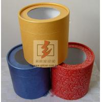 Buy cheap Custom Recycled Paper Tube Box Container , Cosmetic Tube Packaging from Wholesalers