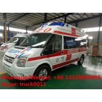China 2020s best seller-FORD V348 diesel transit ambulance vehicle for sale, high quality and low price FORD diesEL ambulance on sale