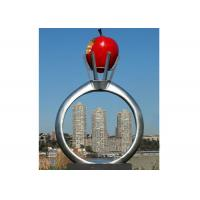 Quality Park Garden Decoration Stainless Steel Modern Monumental Sculptures for sale