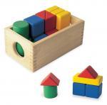 Quality Pre - school Education Kids Toy Building Up Set Fancy Beech Wood for sale
