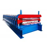 Quality Low Noise Double Layer Roll Forming Machine For Galvanized Corrugated Roofing Panel Sheet for sale