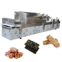 China Peanut Candy Bar / Cereal Bar Making Machine on sale