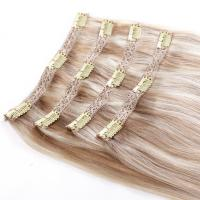 China brazilian hair  clip in hair HAIR EXTENSION on sale