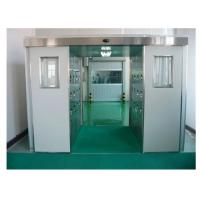 Quality Auto Sensing Clean Room Air Shower Tunnel For Person And Cargo Wind Speed 25m/S for sale
