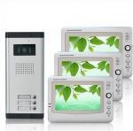 Quality FCC 1440*234 Pixels CMOS Unlock ABS Alloy Multi Apartment Video Intercom Door Entry Phone for sale