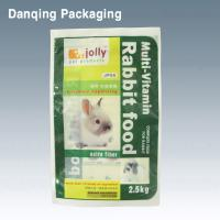 Quality Lamination Film For Rabbit Food,Three Side Seal Bags, Stand Up Pouches With Zipper for sale