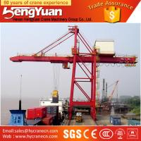 Widely used portal crane, ship-unloader for military