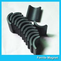 Quality Small Permanent Arc Segment Ferrite Magnet Y25-Y35 For Motorcyceles Motor for sale