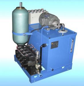 Quality JLF 12v hydraulic power pack unit Motor , Pump ,Tank , Centermanifold Block for sale