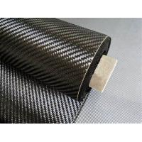 China Carbon Fiber Fabric (cloth), 1K/3K/6K/12K Twill/Plain High strength and Heat resistance on sale